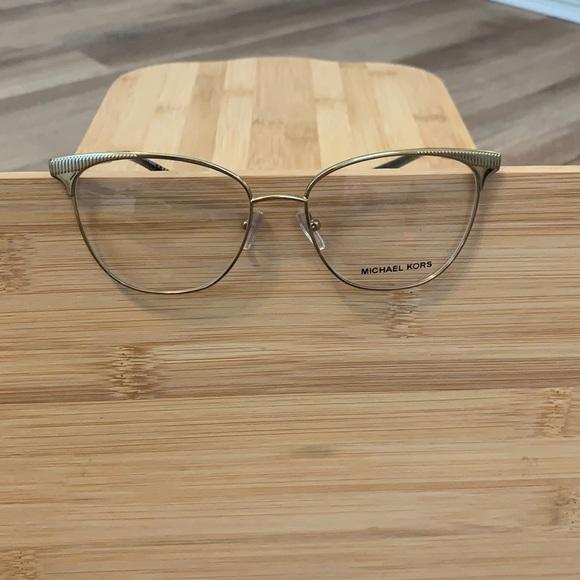 Gold Michael Kors glasses